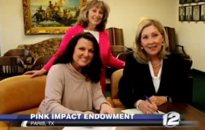PJC signs Breast Cancer Endowment